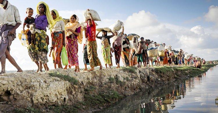 রোহিঙ্গাদের ফেরত বাংলাদেশ সময়ক্ষেপণ করছে : মিয়ানমার